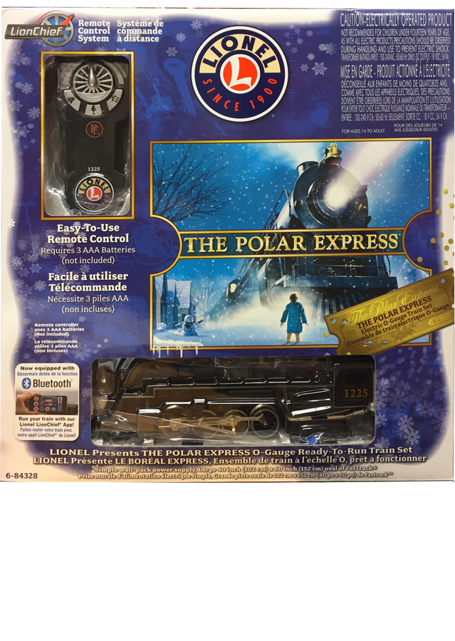 Lionel The Polar Express Lionchief Bluetooth Train Set Www