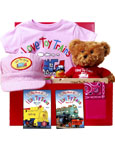 I Love Toy Trains Gift Set - Pink