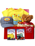 I Love Toy Trains Gift Set - Yellow