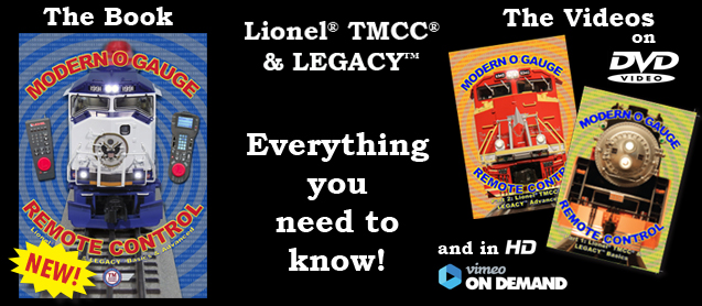 Modern O Gauge Remote Control Part 2: Lionel TMCC & LEGACY Advanced