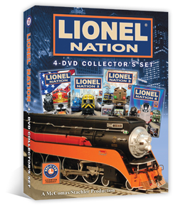 Lionel Nation 4 Dvd Collectors Set Parts 1 4 Www Tmbv Com