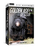 Golden Age of Steam<br> 4-DVD Collector's Set