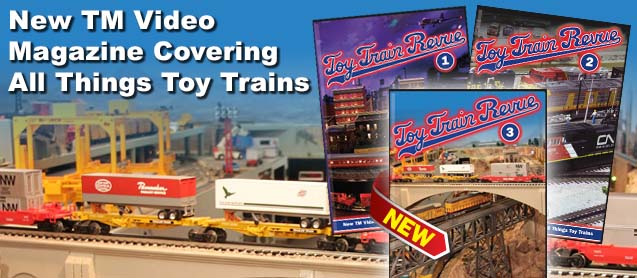Toy Train Revue
