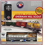 6-83624 Lionel Union Pacific Sherman Hill Scout Remote Control Set