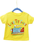I Love Toy Trains T-Shirt Yellow